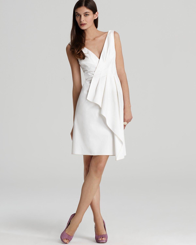 Rachel roy draped wrap dress bloomingdales my wedding rachel roy draped wrap dress bloomingdales ombrellifo Images