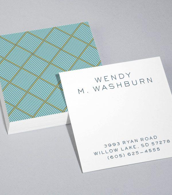 Designvorlagen Für Quadratische LuxeVisitenkarten Durchstöbern - Square business cards template