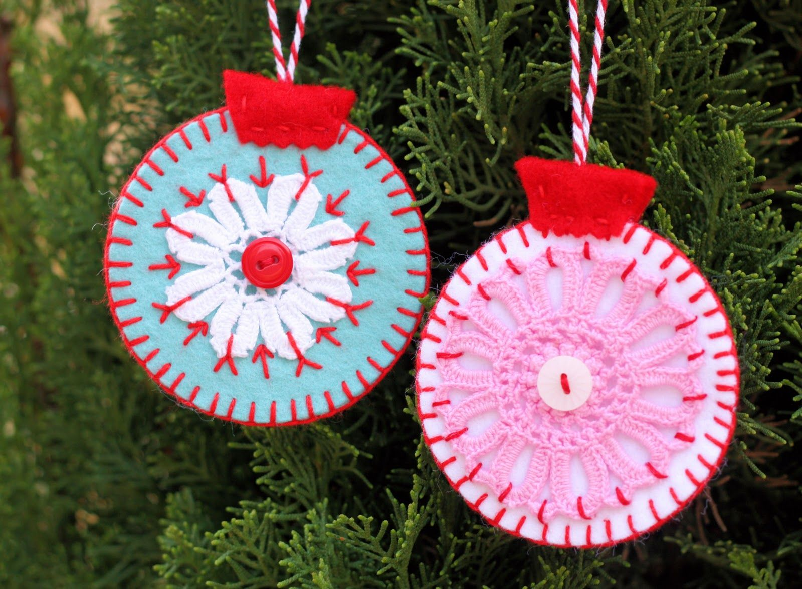 cute homemade christmas tree decorations ornaments ideas - Cute Homemade Christmas Decorations