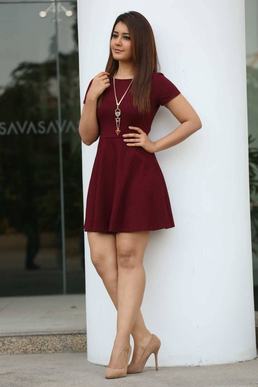 Rashi Khanna In Mini Skirt Photo-Shoot Pics 7 - Indian -8712