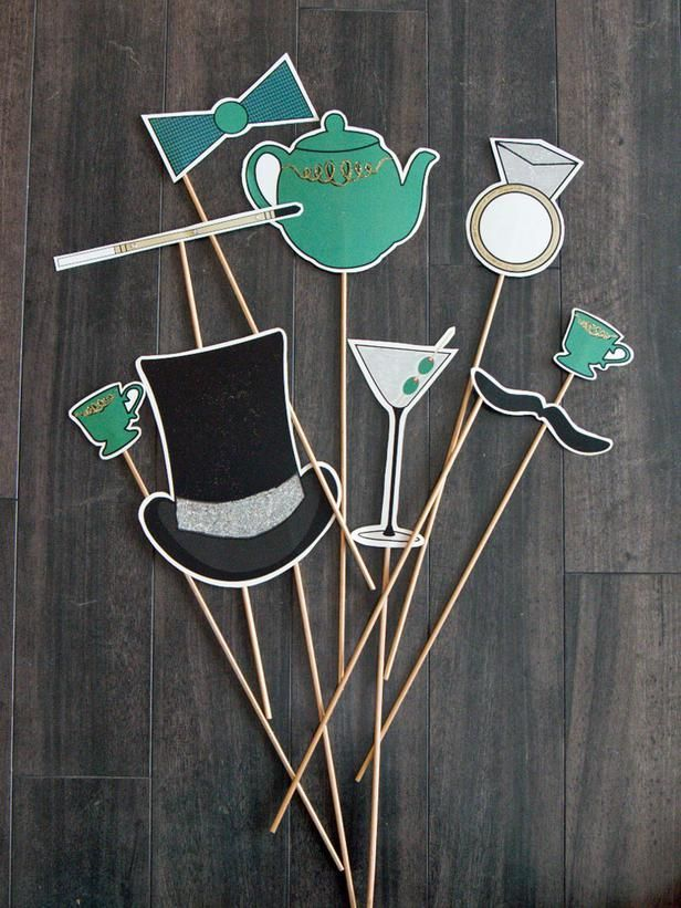 Free Printable Accessories For Your 1920s Party