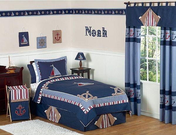 Maritimes Schlafzimmer Kinderzimmer Gestalten