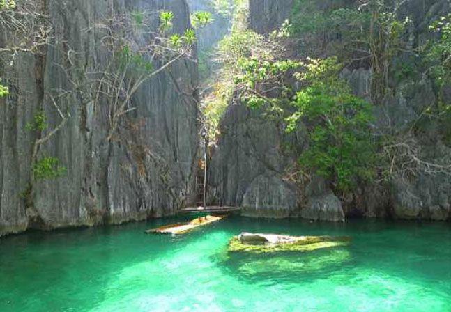 Lago com águas-vivas está entre piscinas naturais mais