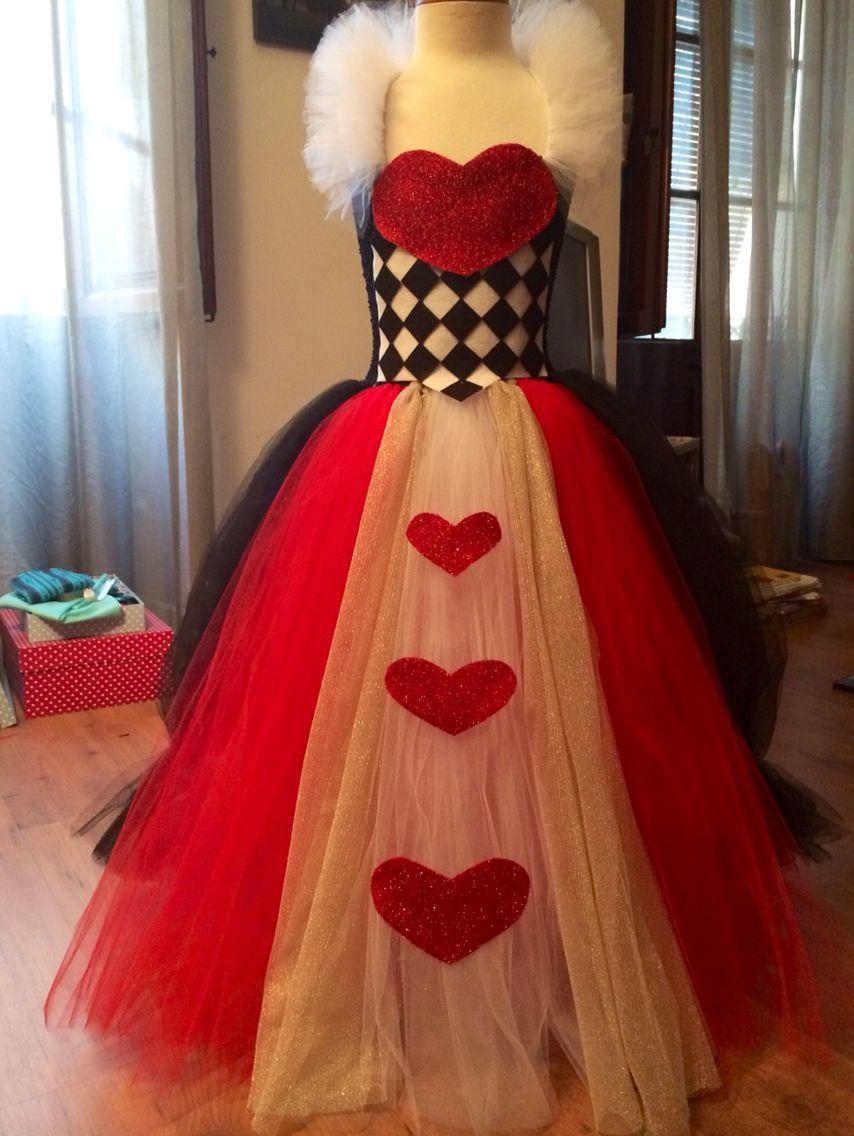 Reina De Corazones Purim Disfraz De Reina De Corazones Disfraz