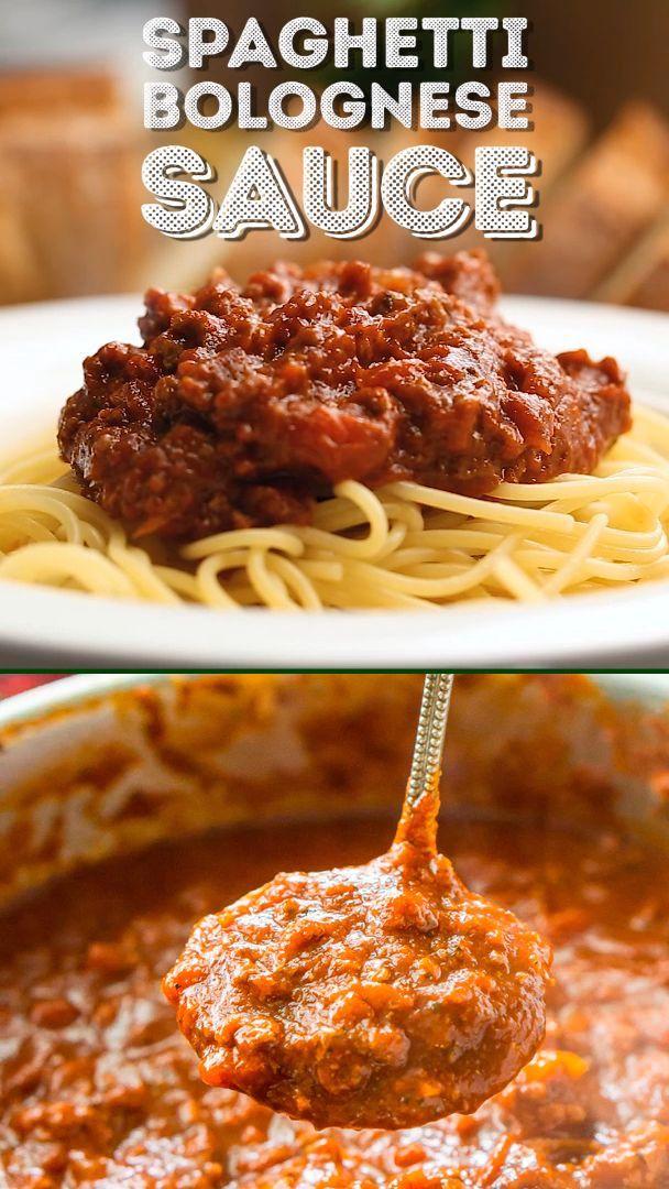 Spaghetti Bolognese Sauce Recipe | Sugar & Soul