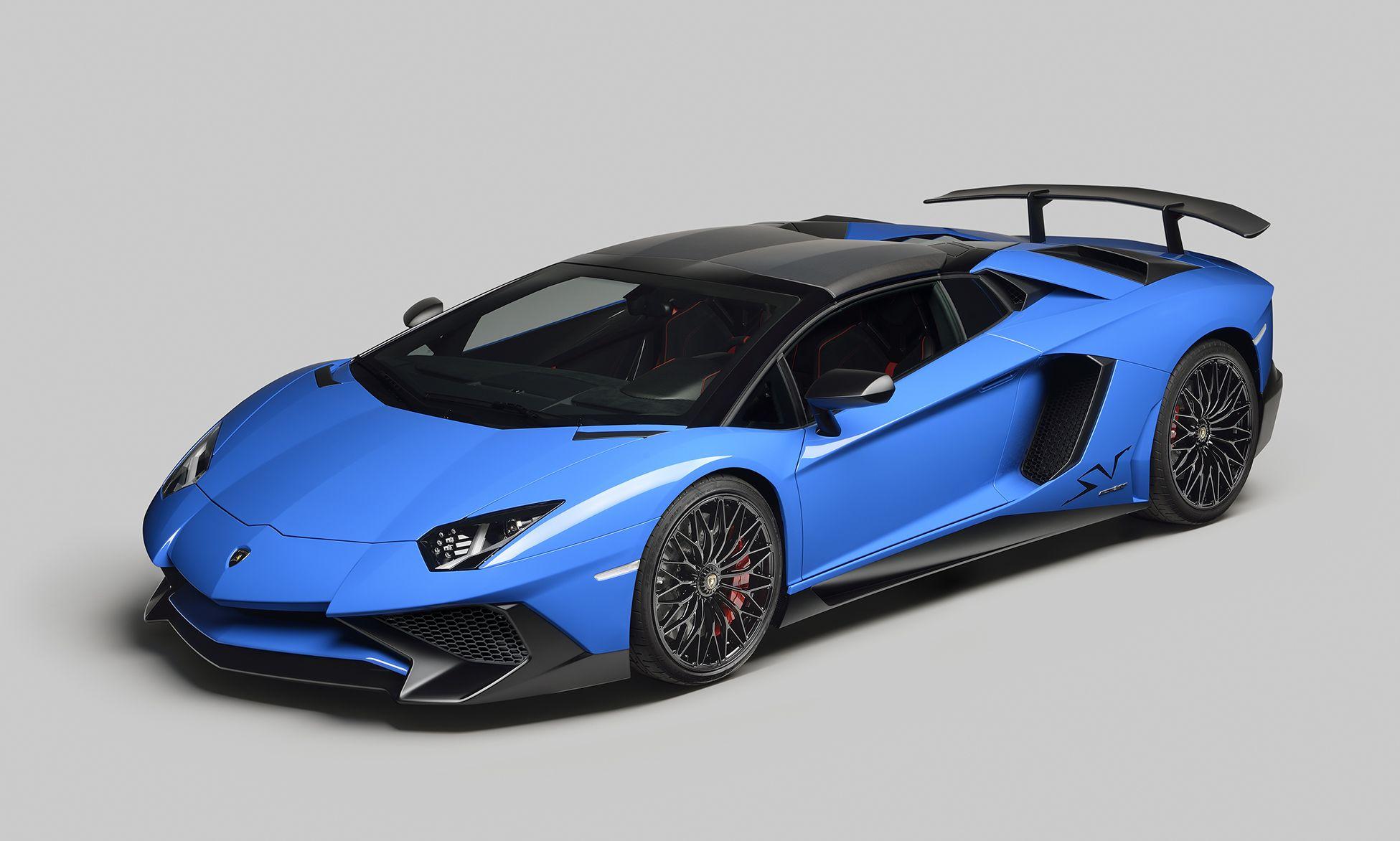 Automobili Lamborghini Unveils The New Lamborghini Aventador LP 750 4  Superveloce Roadster In Occasion Of