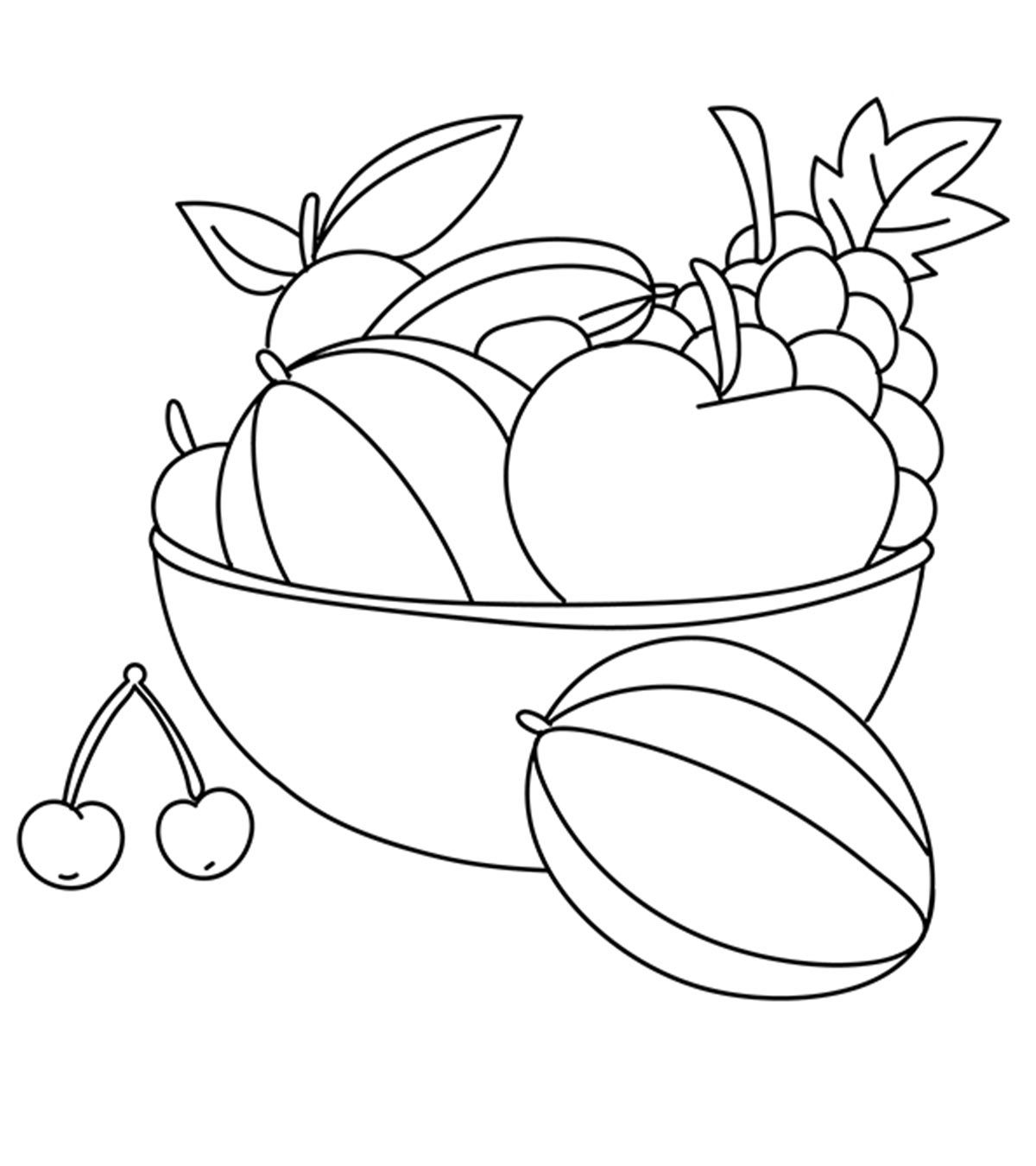 Top 10 Free Printable Cherry Coloring Pages Online Coloring Pages For Kids Coloring Pages Fruit Coloring Pages