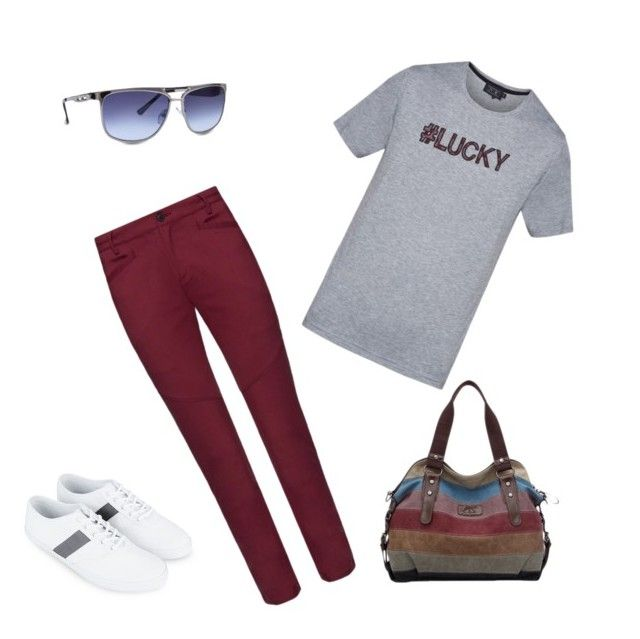 """Boyish look"" by techyladygogo on Polyvore featuring ZALORA"