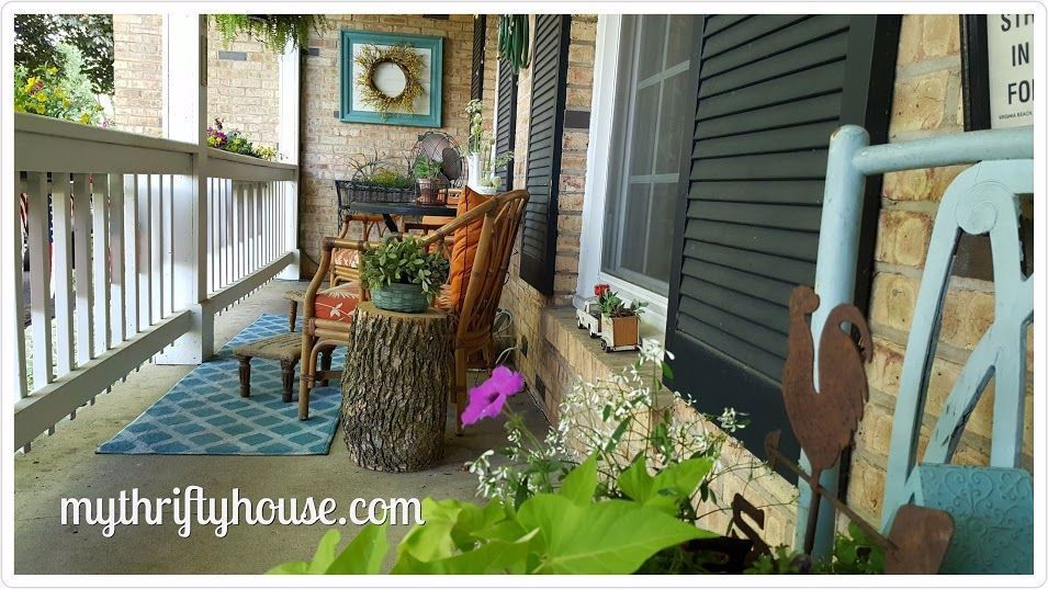 Decorating with Flea Market and Thrift Store Finds #fleamarketfinds Decorating with Flea Market and Thrift Store Finds