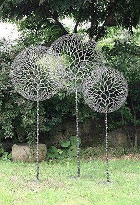 Esculturas en el jard n sculpture pinterest for Esculturas en jardines