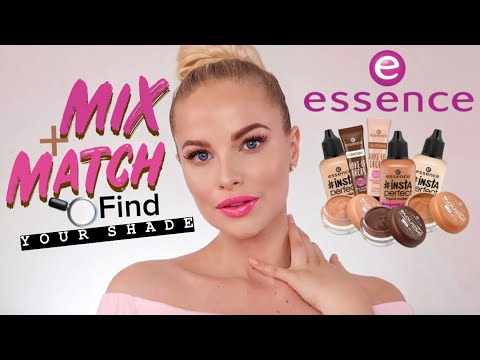 essence cosmetics INSTAPERFECT find your shade! YouTube