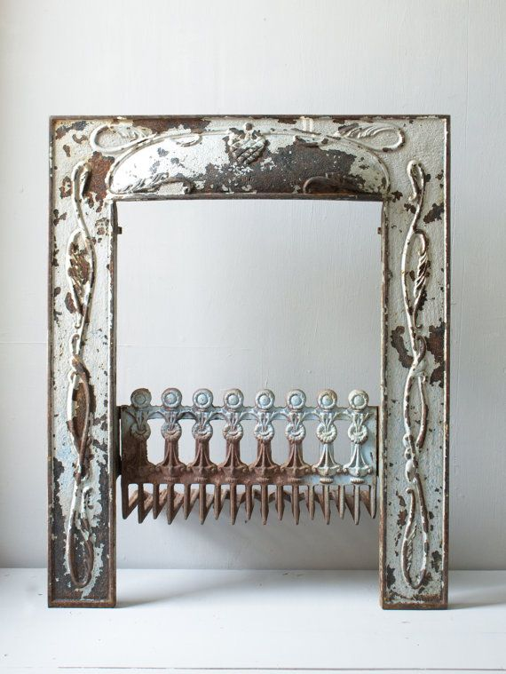 Vintage Cast Iron Fireplace Surround | For the Home | Fireplace ...