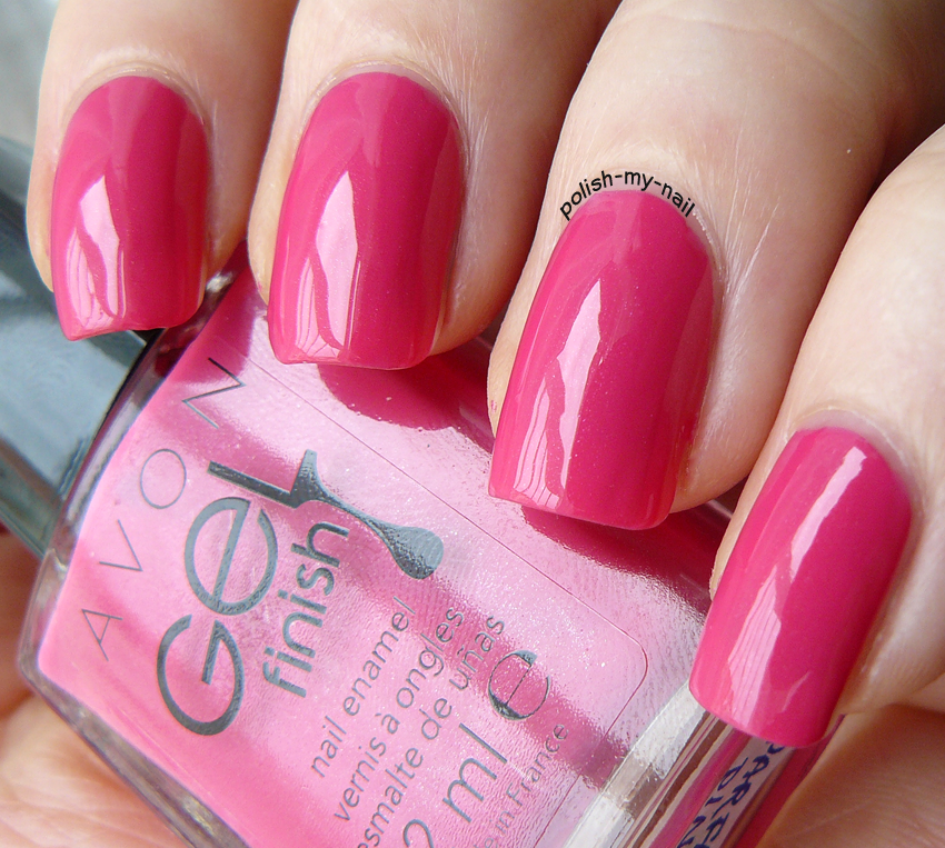 Avon Pink Nail Polish: Avon Gel Finish Parfait Pink