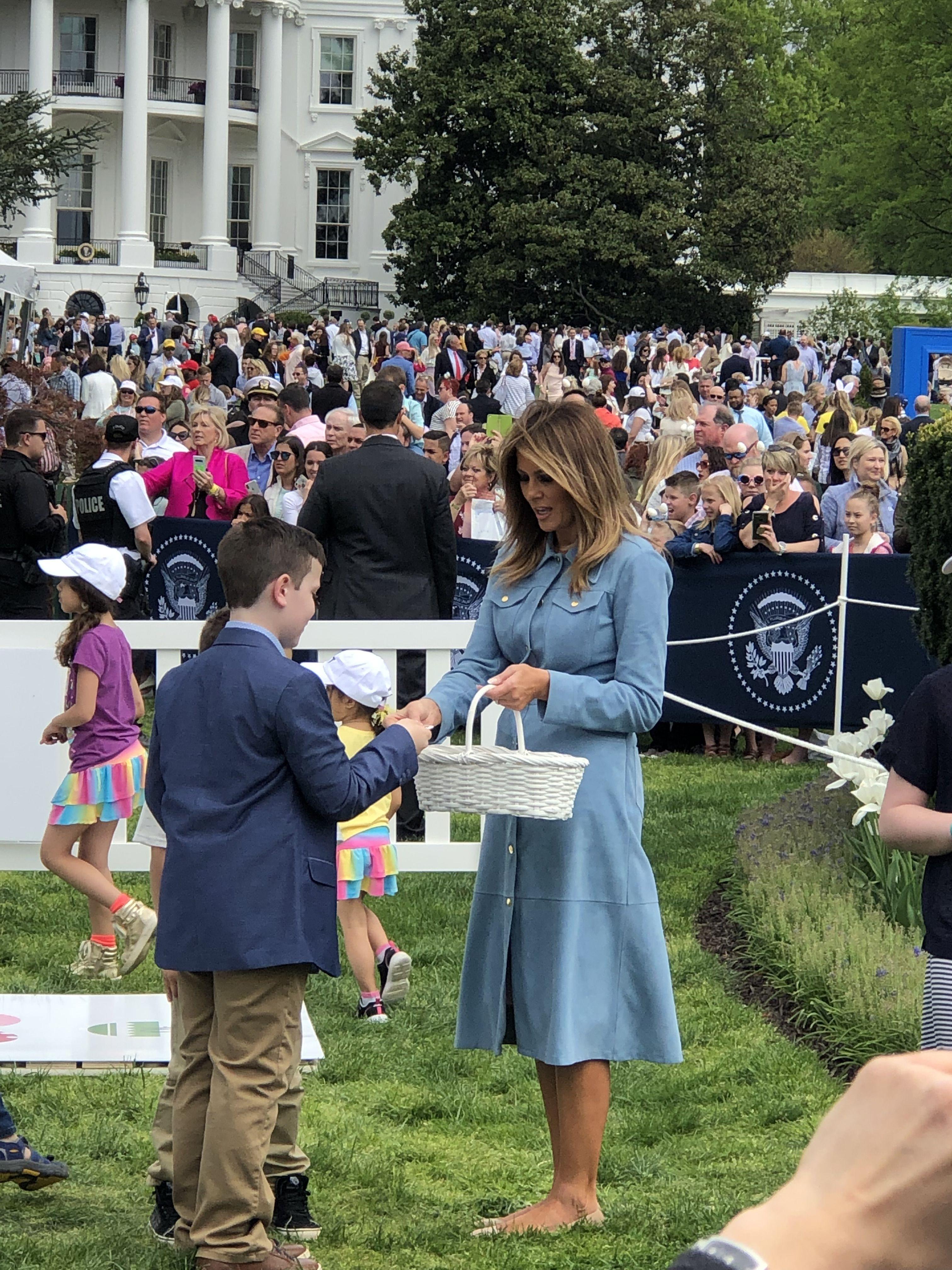 White House Easter Egg Roll 2019 White House Easter Egg Egg Rolls Easter Eggs