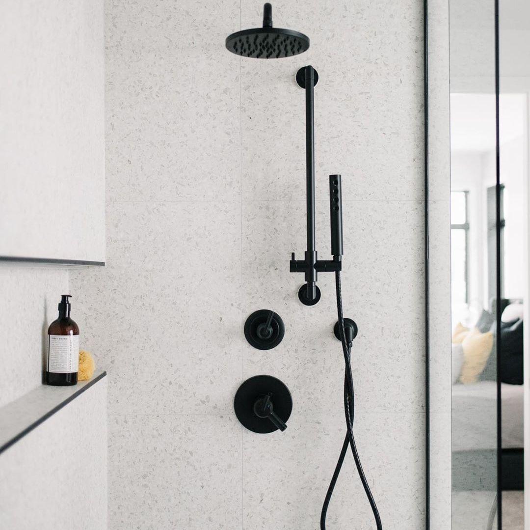 brizo bath collection in matte black