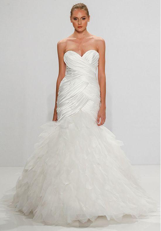 Dennis Basso for Kleinfeld Mermaid Wedding Dress | Party-ruhák és ...