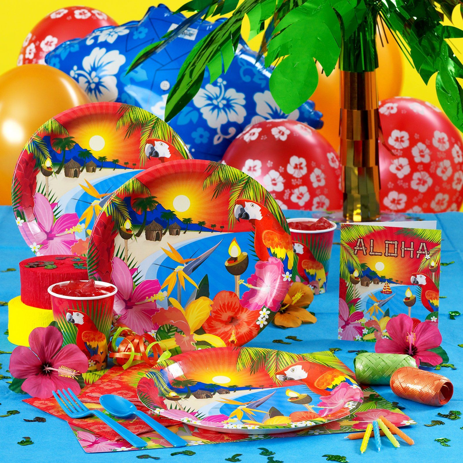 hawaiian party ideas | Tropical Hula Girl Invitations Party Hawaiian ...