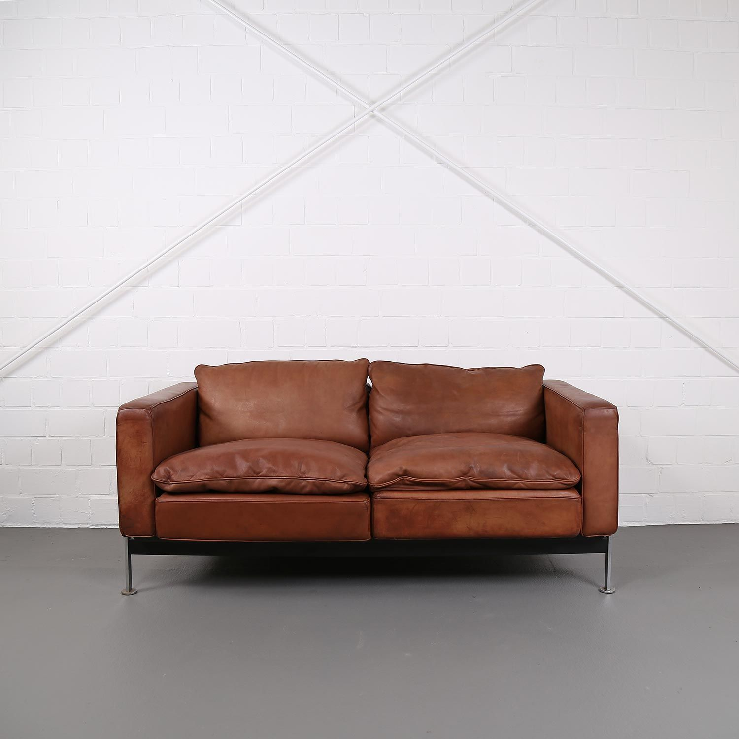 Vintage Modular Leather Sofa from Dreipunkt International COR ...