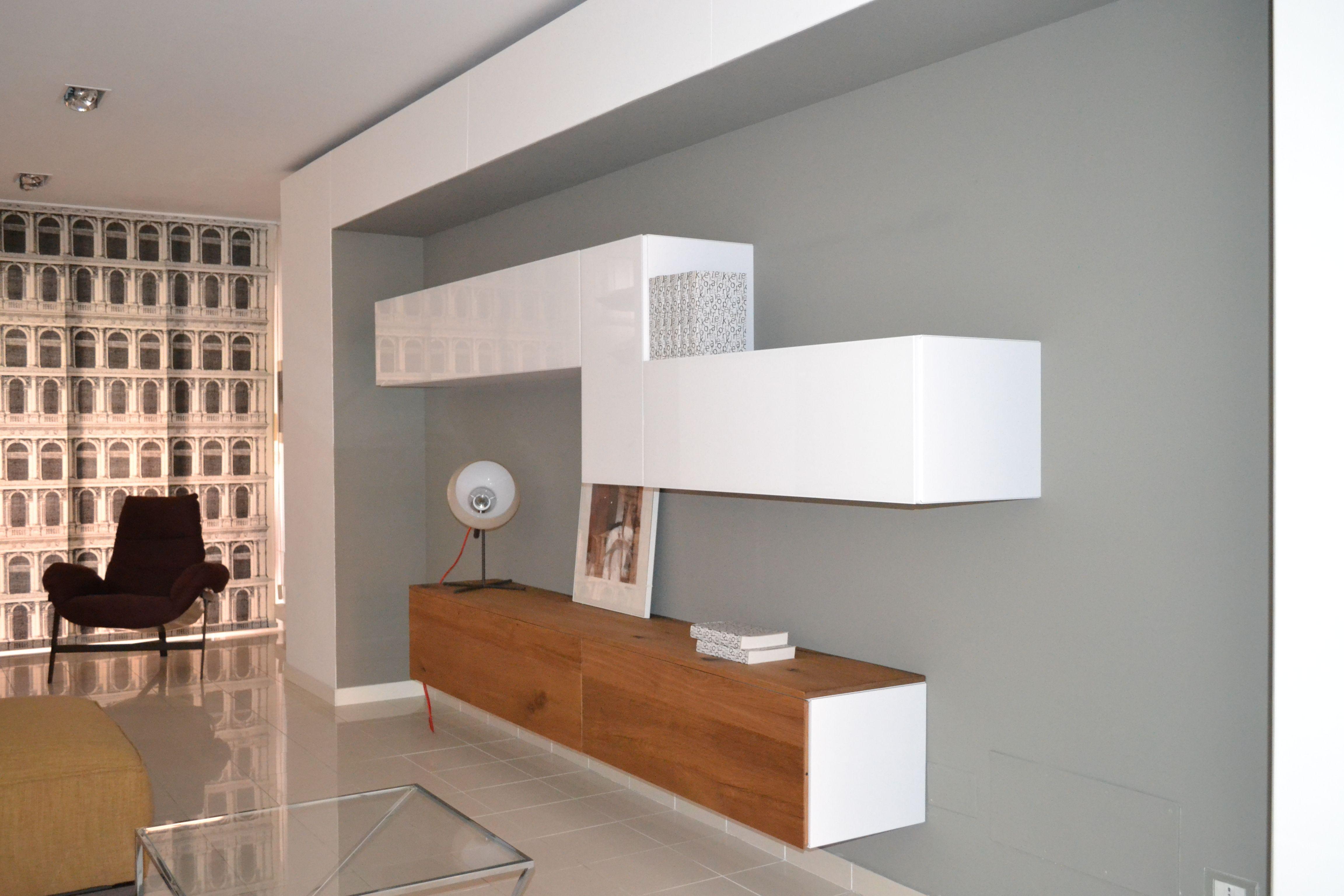 Pareti attrezzate lago mobili soggiorno eleganza for Lago pareti attrezzate