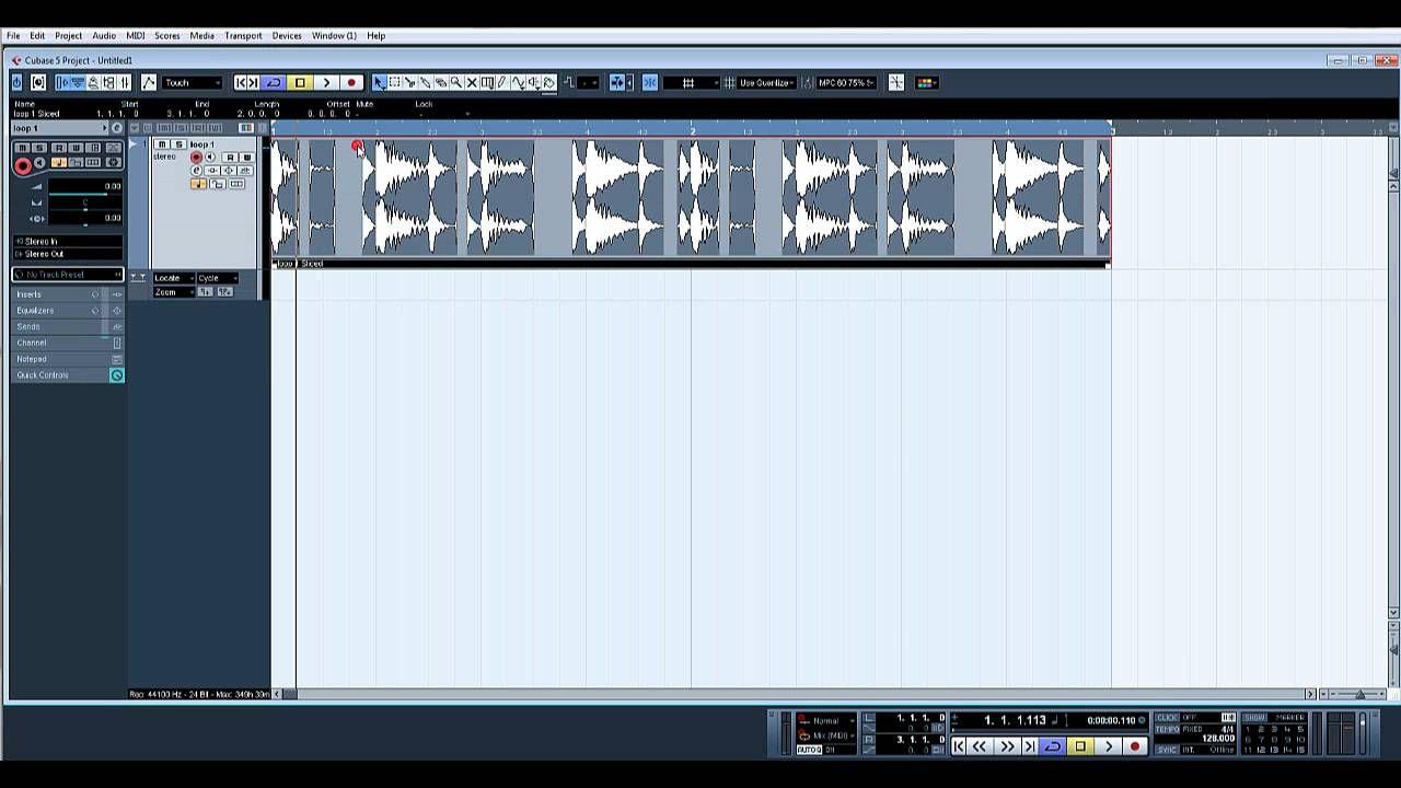 Quantize audio tracks in Steinberg Cubase 5 and creating quantize