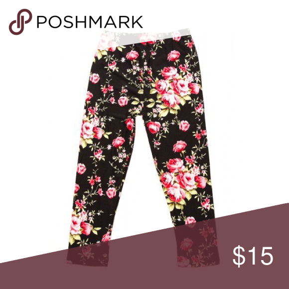 Floral Chic Leggings I have these for children & their Mama's. Mommy & Me sets are $32 Bottoms Leggings