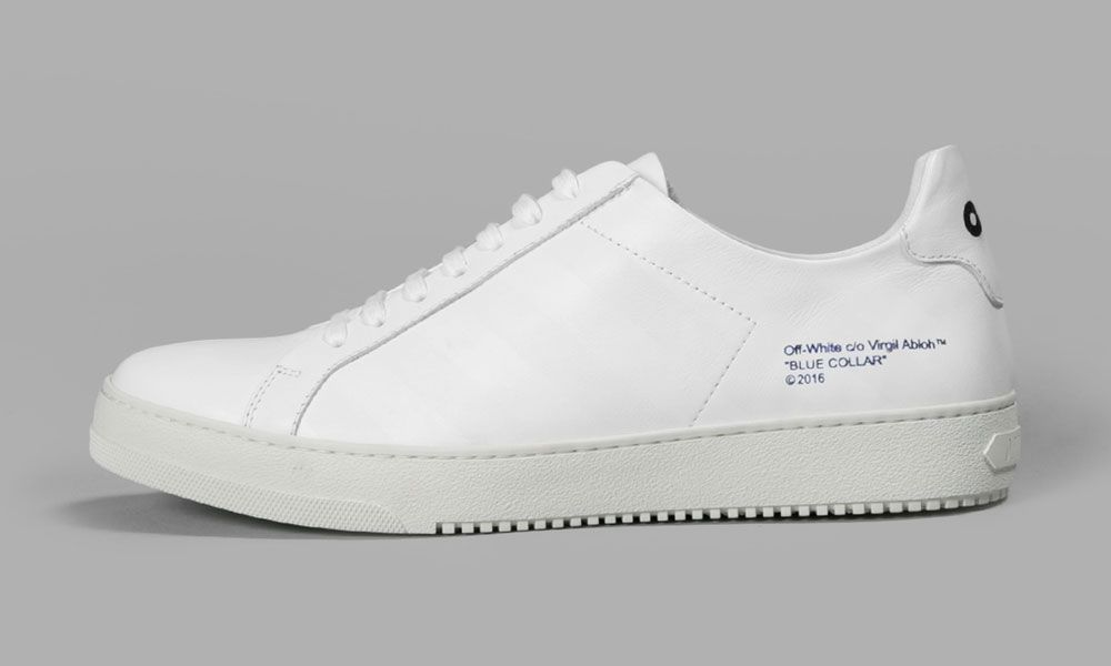 White Sneaker For Spring Off Virgil 'diagonals' Abloh Launches Co OPXuZik