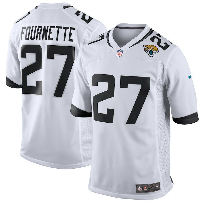 fcad9784 Leonard Fournette Jacksonville Jaguars Nike Youth Player Game Jersey – White