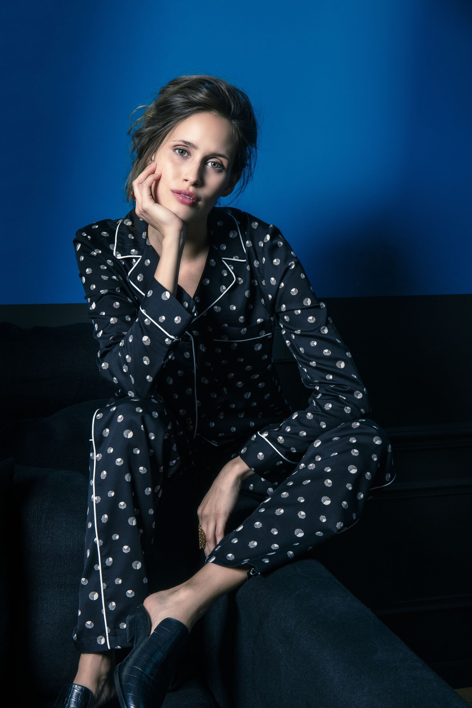 Black printed pure cotton ladies pyjamas | PAJAMAS | Pinterest ...