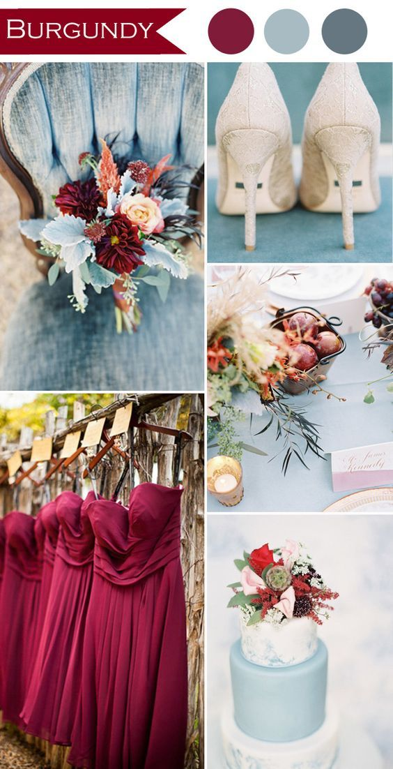 1b14e6c8fb9 4 Shades of Red Wedding Colors | Wedding Color Palettes | Rustic ...
