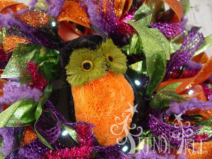 Photo of Halloween Ribbon Wreath Tutorial – Trendy Tree Blog| Holiday Decor Inspiration | Wreath Tutorials|Holiday Decorations| Mesh & Ribbons