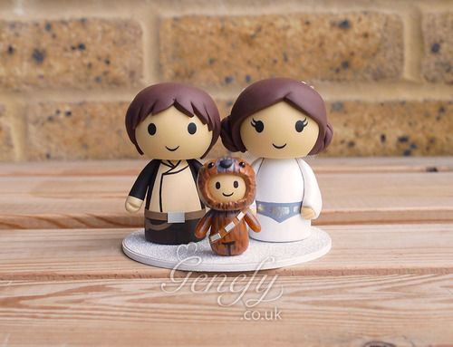Imagen De Cake Topper, Empire Strikes Back, And Hans Solo