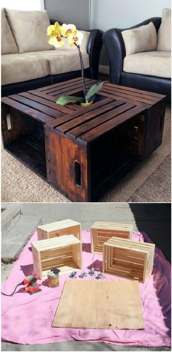 Marvelous Best Amazing Wood Crate Projects for