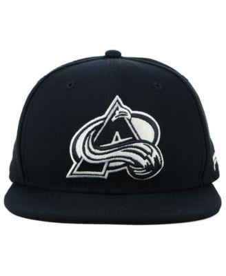 060314f3 Nhl Authentic Headwear Colorado Avalanche Black Dub Fitted Cap - Black 7