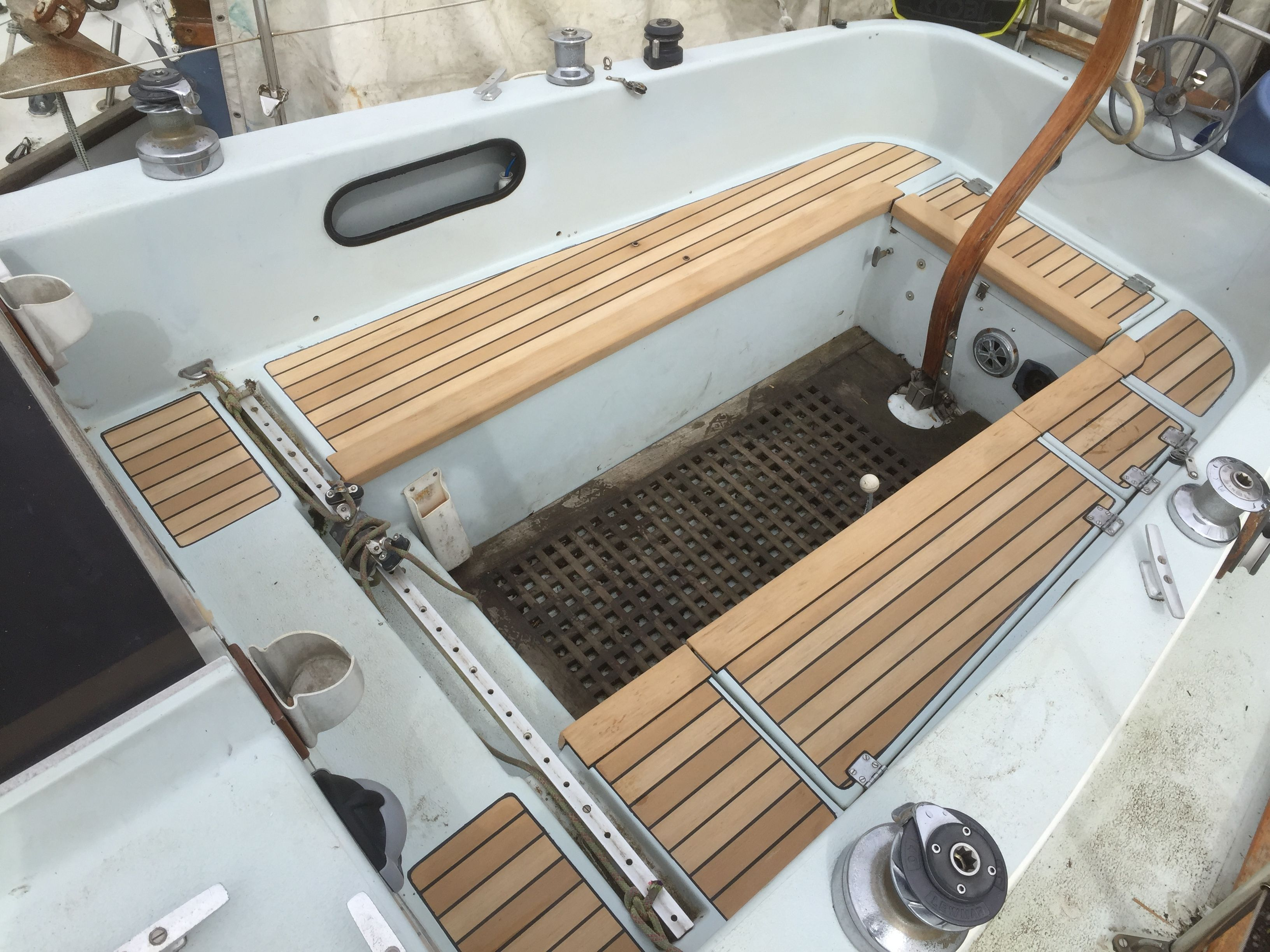 Boat Deck And Floor Materials Replace Boat Floor Working With Pvc Boards Boat Decking Plastic Decking Wpc Decking Pvc Board