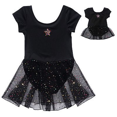 637fb012c7a Dollie   Me Star Skirted Dance Leotard - Girls