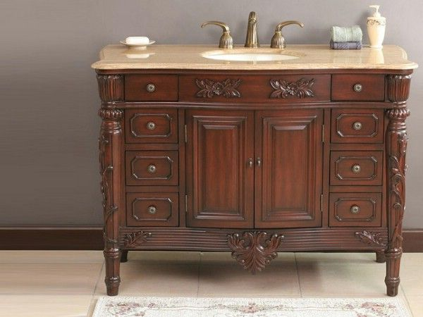 Top 10 Antique Vanities to Give Your Bathroom a Unique Look - Top 10 Antique Vanities To Give Your Bathroom A Unique Look
