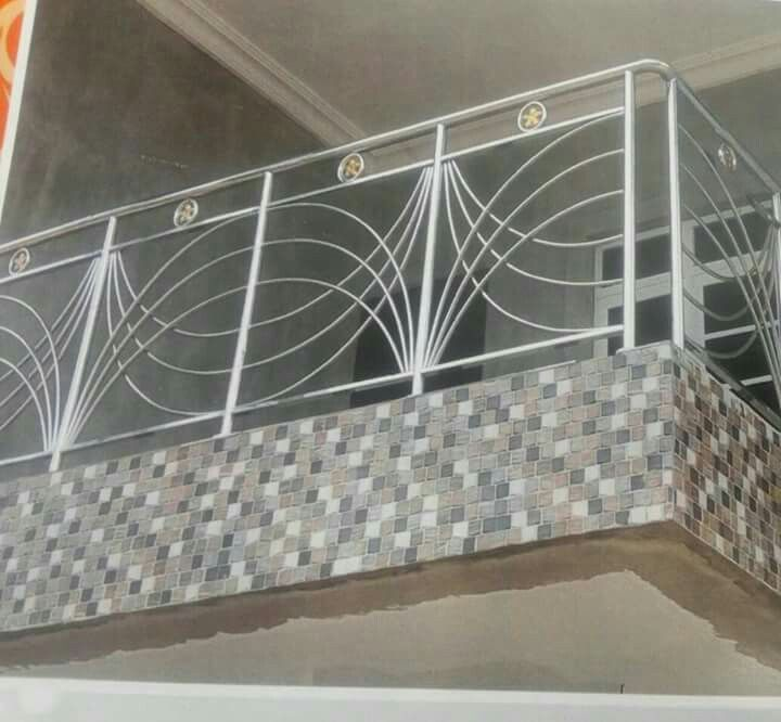Balcony Grill Made With Stainless Steel Jj Steel Railing Design