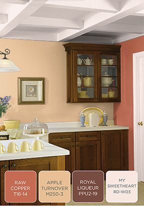 The kitchen is the center of your home make it shine with - Kitchen living room color combinations ...