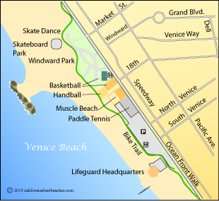 Map Of Venice Beach