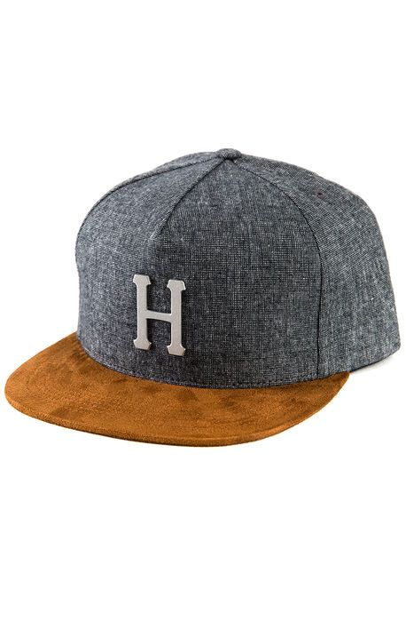 683a5de6c48843 The Metal H Strapback in Black | Buying