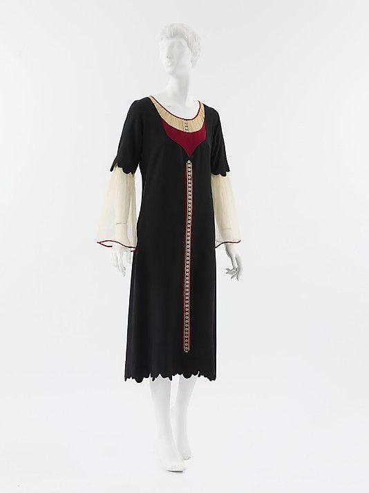 Wool & Silk Dress 1925  Paul Poiret   (French, Paris 1879–1944 Paris)