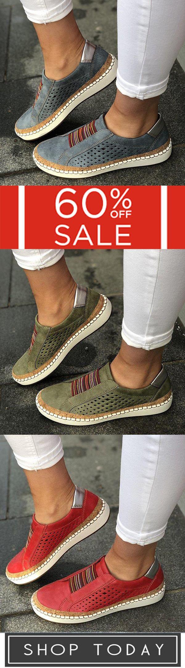 Comfortable Flat Bottom Breathable Shoes 2