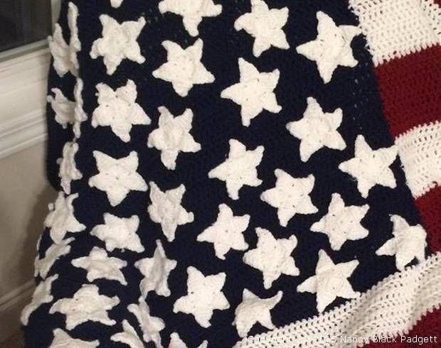 Crocheted Stars Pattern Patterns Pinterest Crochet Star