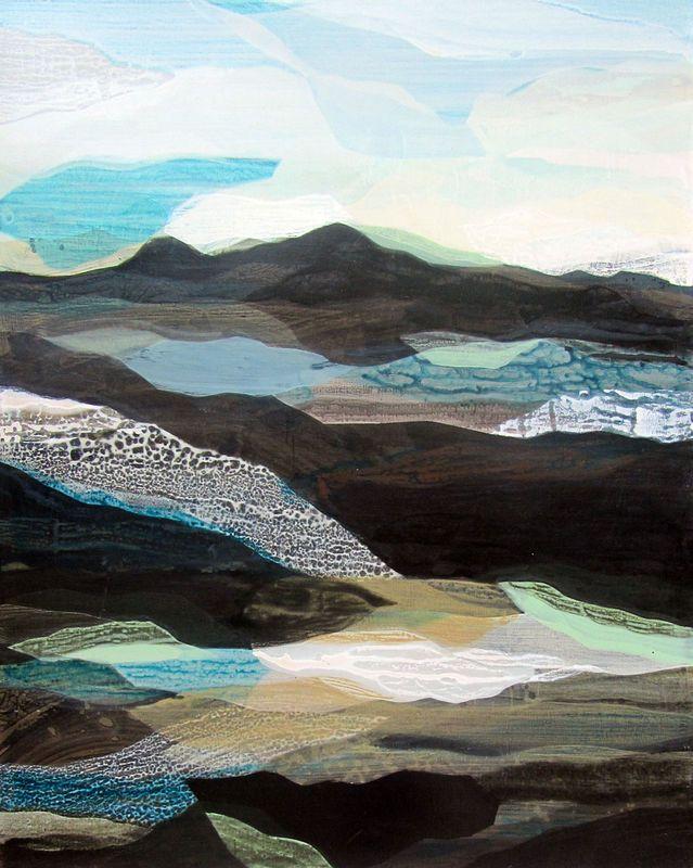 (Overpass) Vertical Berm by Katherine Sandoz