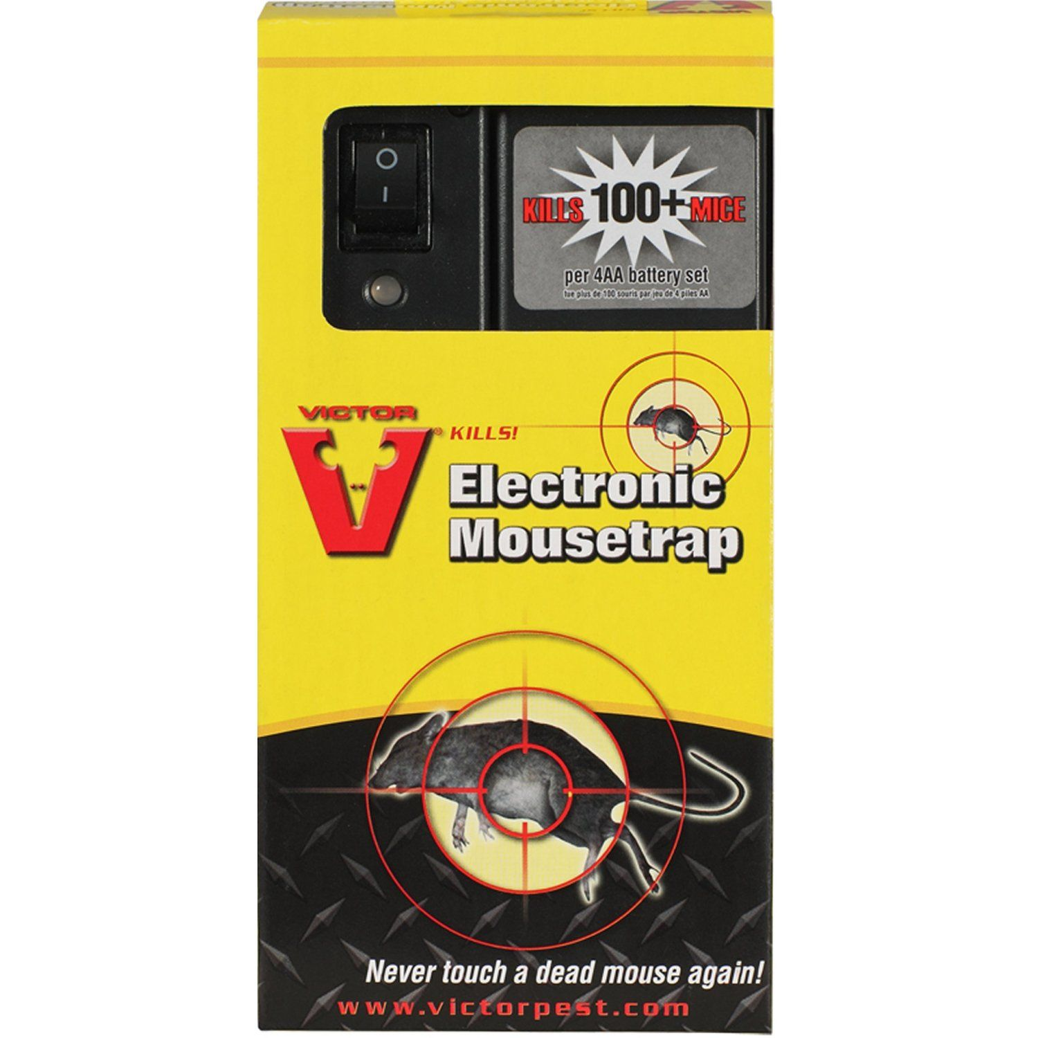 how to set a victor electronic mouse trap