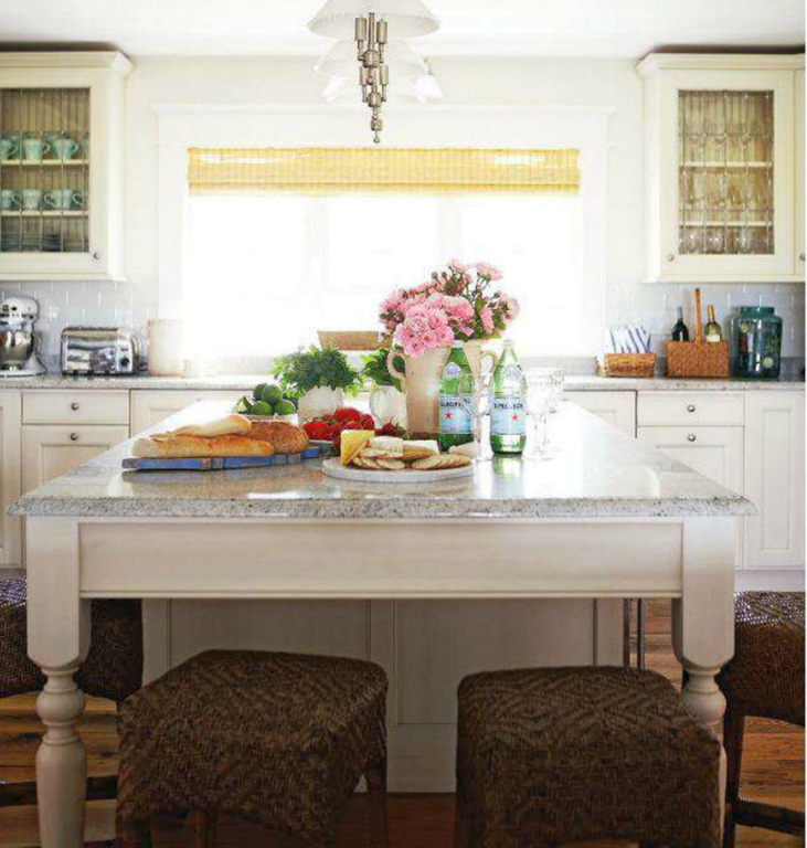 A Different Way To Do A Large Island: Perpendicular To Cabinets, Not  Parallel And