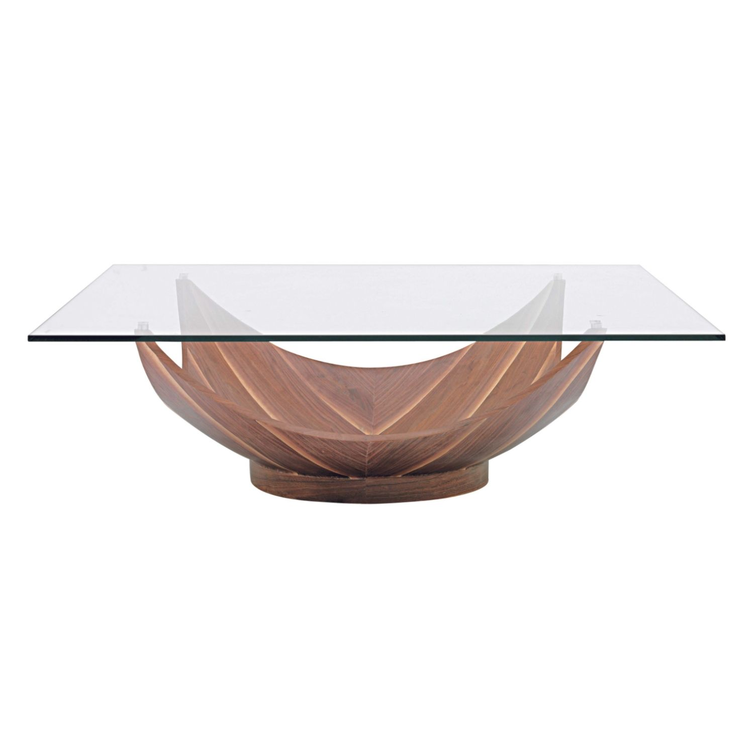 Opium Glass Top Coffee table from Domayne line