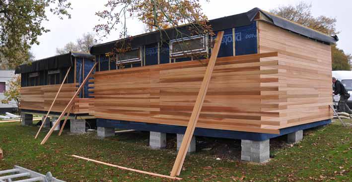 Garden Lodge Construction | Garden lodge, Garden buildings ...