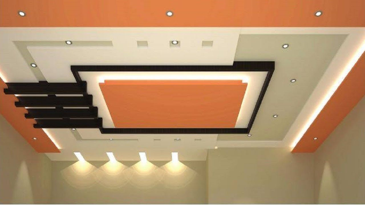 false ceiling design for kitchen bedroom living room with fan 2018 lighting installation ideas [ 1280 x 720 Pixel ]