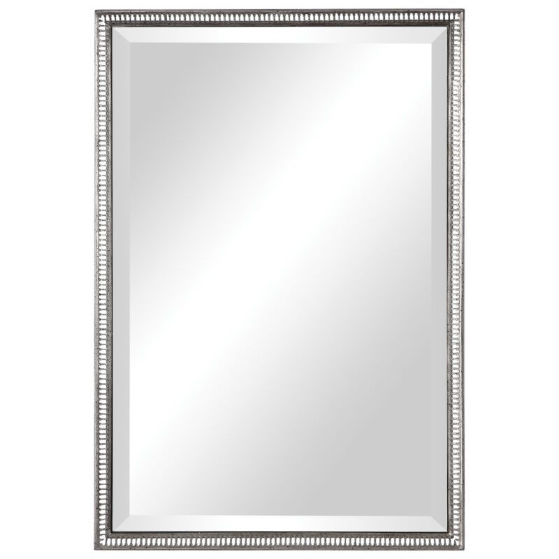 Uttermost Charmian Silver Vanity Mirror 09558 Mirrors Ebay Link In 2020 Vanity Wall Mirror Silver Vanity Framed Mirror Wall